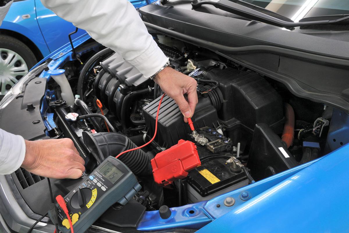Sicherheitscheck Autobatterie